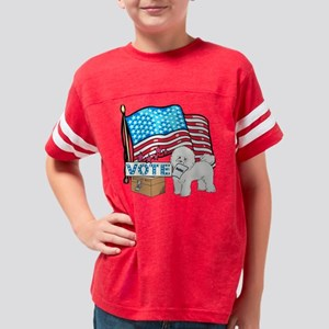 bichonvote Youth Football Shirt