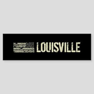 Black Flag: Louisville Sticker (Bumper)
