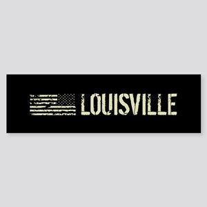 Black Flag: Louisville Sticker (Bumper)
