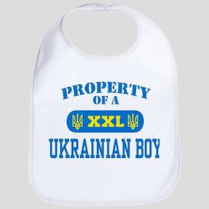 Property of a Ukrainian Boy Bib