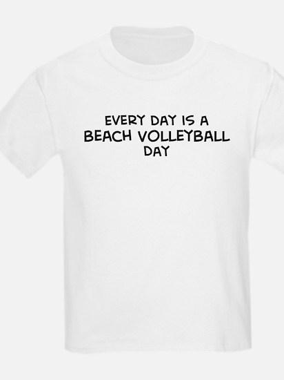 Beach Volleyball day Kids T-Shirt