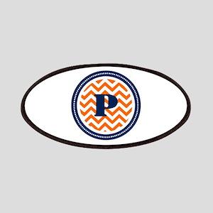 Orange & Navy Patches