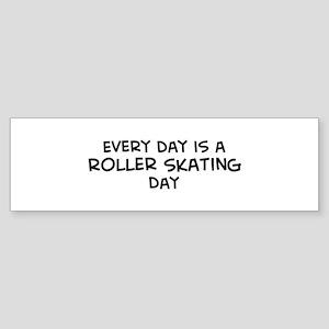 Roller Skating day Bumper Sticker