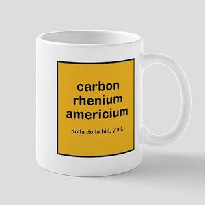 cream chem mug