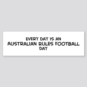 Australian Rules Football day Bumper Sticker