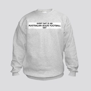 Australian Rules Football day Kids Sweatshirt