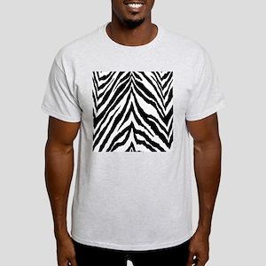 Zebra Skin Vertical Light T-Shirt