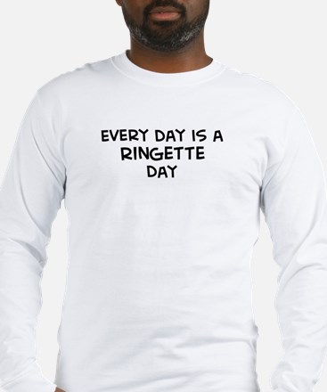 Ringette day Long Sleeve T-Shirt