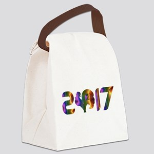 2017 YEAR OF THE ROOSTER Canvas Lunch Bag
