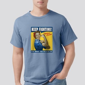 Hillary Clinton Keep Fighting Mens Comfort Colors
