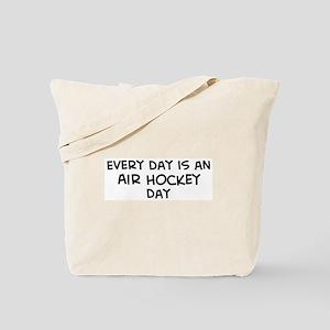Air Hockey day Tote Bag