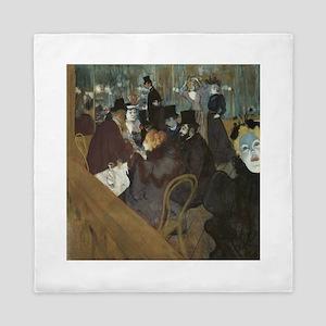 Lautrec At Moulin Rouge Queen Duvet