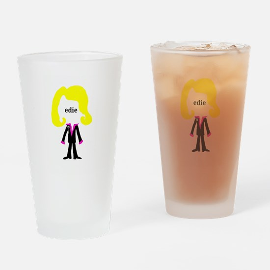 Edie with Pin Drinking Glass