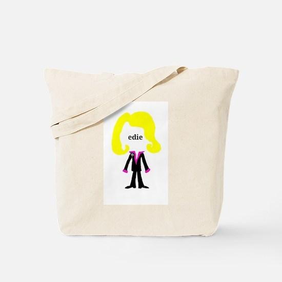 Edie with Pin Tote Bag