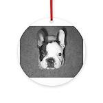 French Bulldog Ornament (Round)