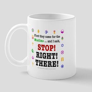 First They Came... Mug