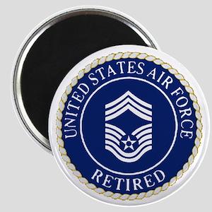 USAFRetiredChiefMasterSergeantCapDevice Magnet