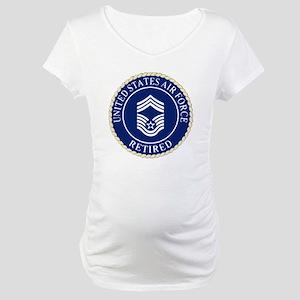 USAFRetiredChiefMasterSergeantCa Maternity T-Shirt