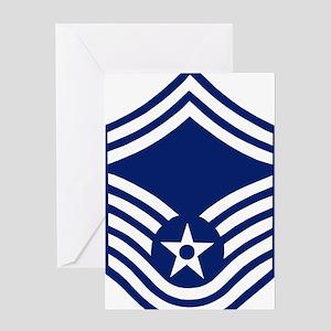 USAFSeniorMasterSergeantForCups Greeting Card