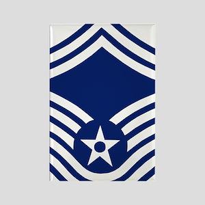 USAFSeniorMasterSergeantForCups.g Rectangle Magnet