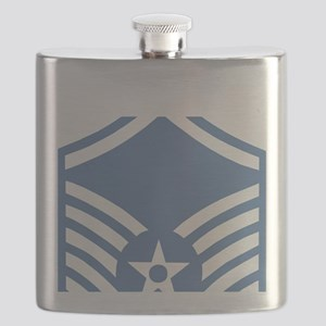 USAFMasterSergeantBlueMeshCap Flask
