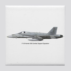 Canada's 439 Combat Support S Tile Coaster