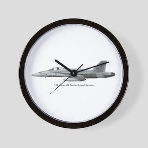 Canada's 439 Combat Support S Wall Clock