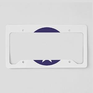 ArmyAirForceWWIICap License Plate Holder