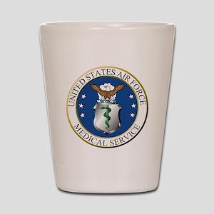 USAFMedicalServiceLogoDennis Shot Glass