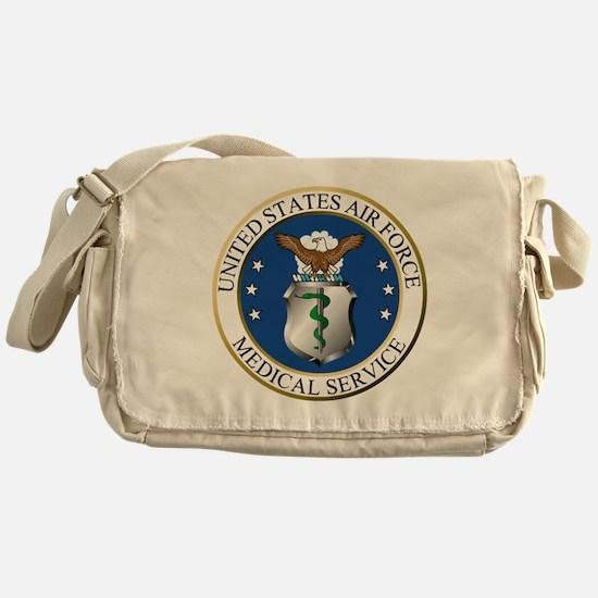 USAFMedicalServiceLogoDennis.gif Messenger Bag