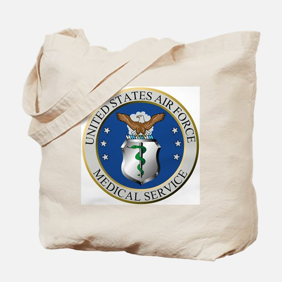 USAFMedicalServiceLogoForColors.gif Tote Bag