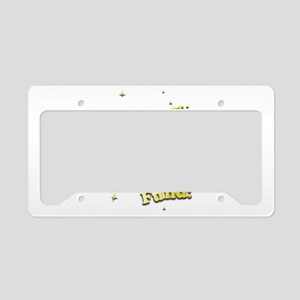 Lottery Retirement Fund License Plate Holder