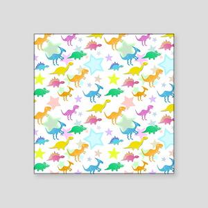 Cute Dinosaurs Pattern Sticker