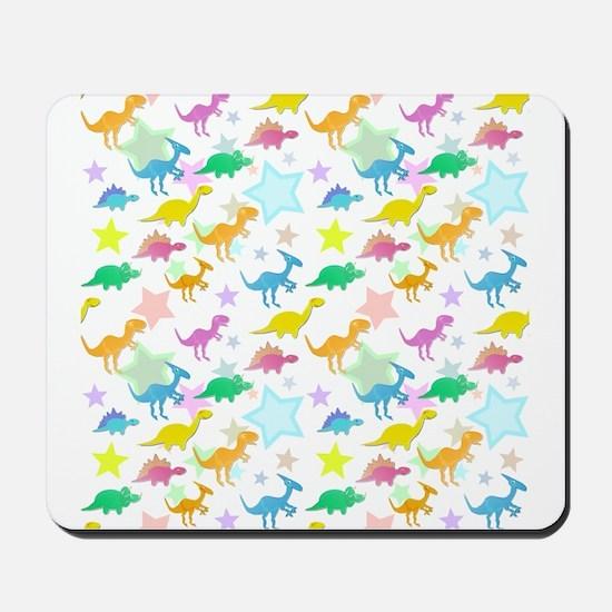 Cute Dinosaurs Pattern Mousepad