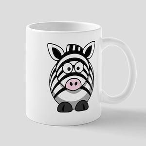 Cartoon Zebra Small Mug