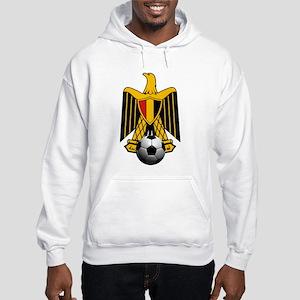 Egyptian Football Eagle Hooded Sweatshirt