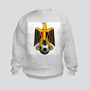 Egyptian Football Eagle Kids Sweatshirt