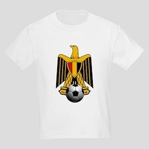 Egyptian Football Eagle Kids Light T-Shirt