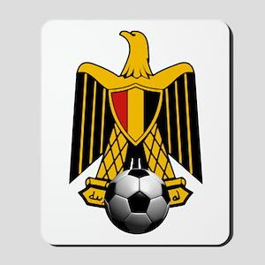 Egyptian Football Eagle Mousepad