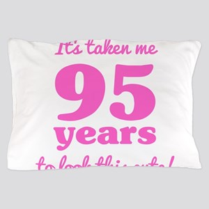 Cute 95th Birthday For Women Pillow Case