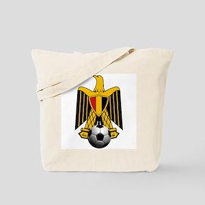 Egyptian Football Eagle Tote Bag