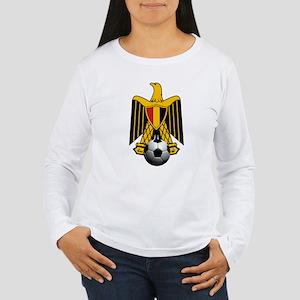 Egyptian Football Eagl Women's Long Sleeve T-Shirt