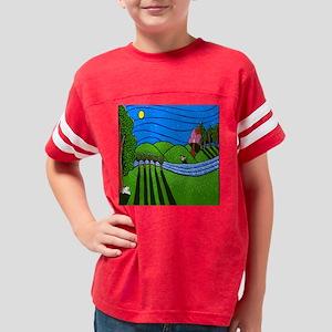2DOGNIGHTtilefolkart Youth Football Shirt