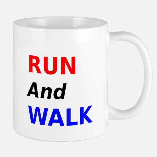 Run and Walk Mug