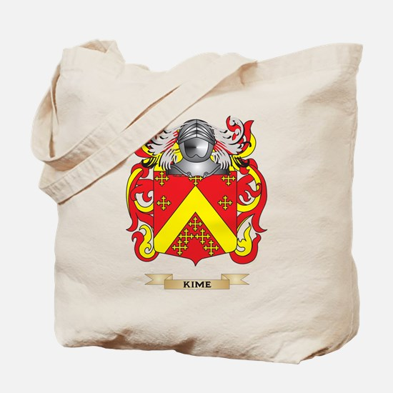 Kime Coat of Arms (Family Crest) Tote Bag