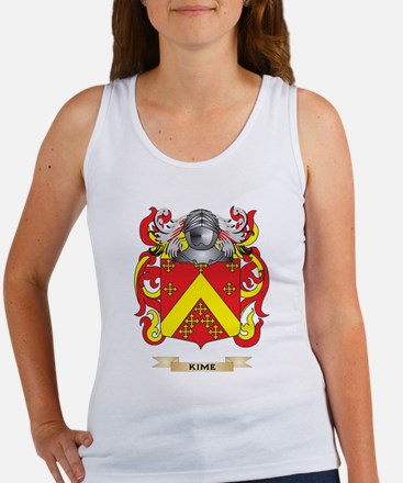 Kime Coat of Arms (Family Crest) Tank Top