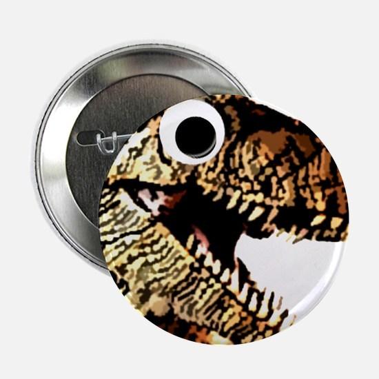 "Google eye dinosaur 2.25"" Button"