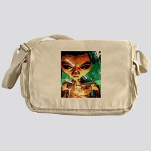 Life out there Messenger Bag