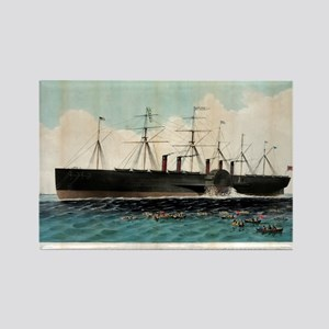 The iron steam ship Great Eastern - 1858 Magnets