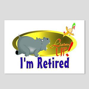 Retiree Fun. Postcards (Package of 8)